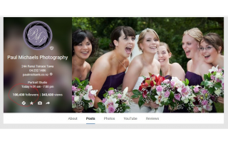 Paul Michaels Photography gets 100,000 Google plus followers