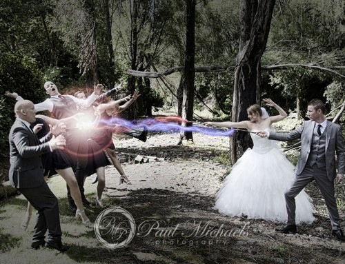 The Harry Potter wedding of Christian and Stephanie