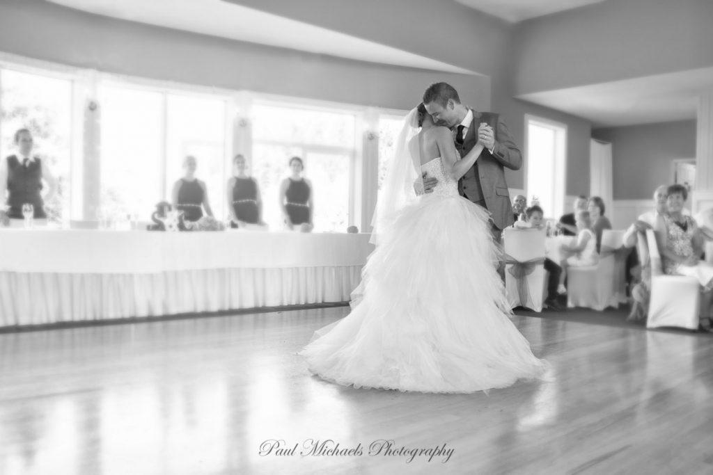 Christian and Stephanie's frist dance