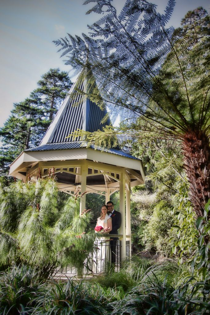 Gazebo at the gardens