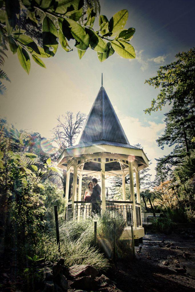 Gazebo at the Wellington gardens