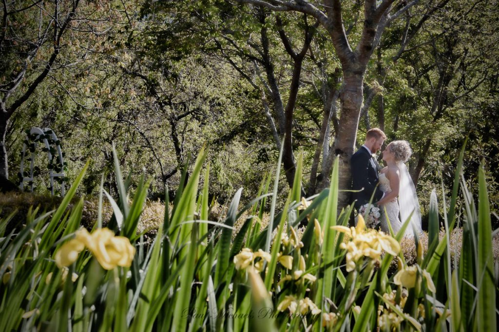Lovely spring wedding at Aston Norwood