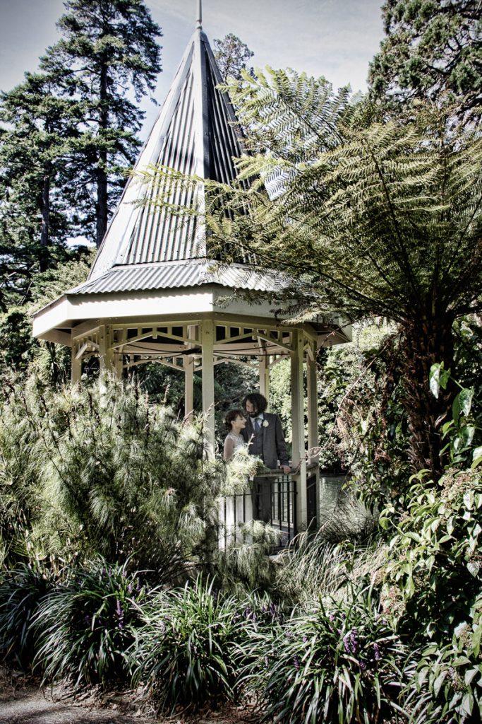 Gazebo at Wellington Botanical gardens