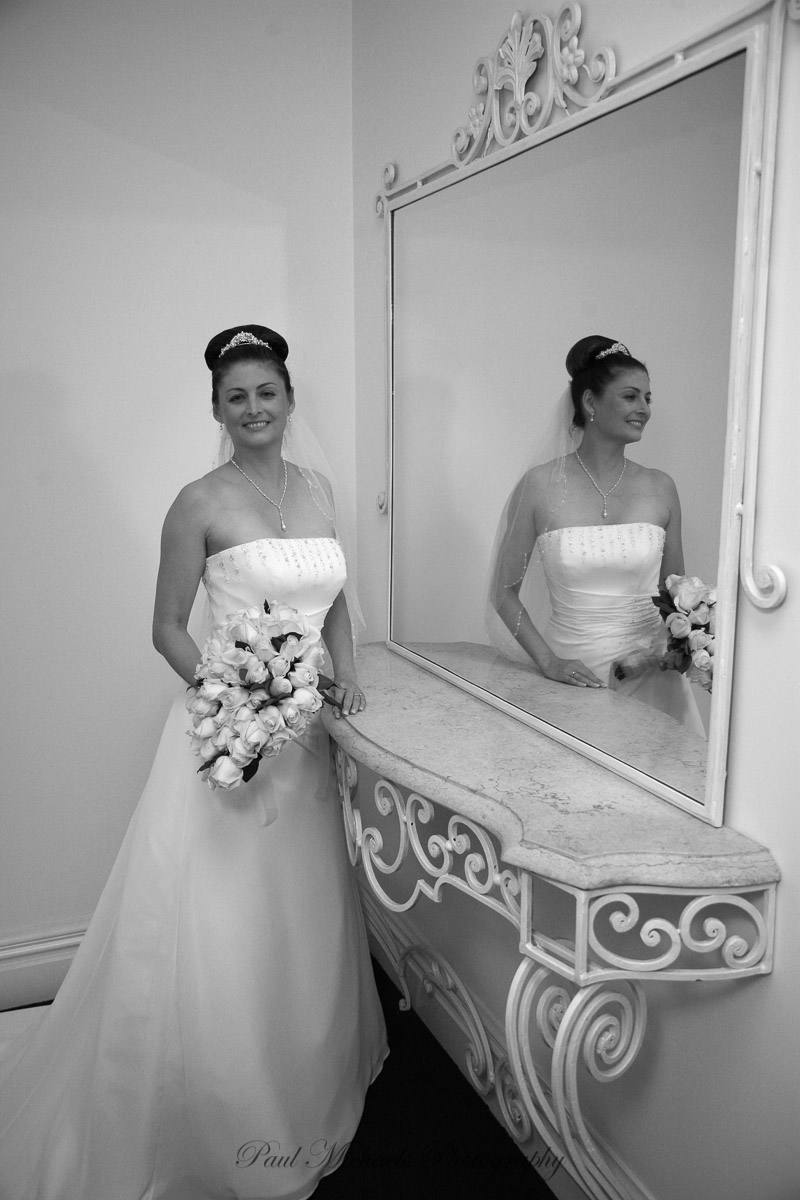 Bride at the White Swan venue