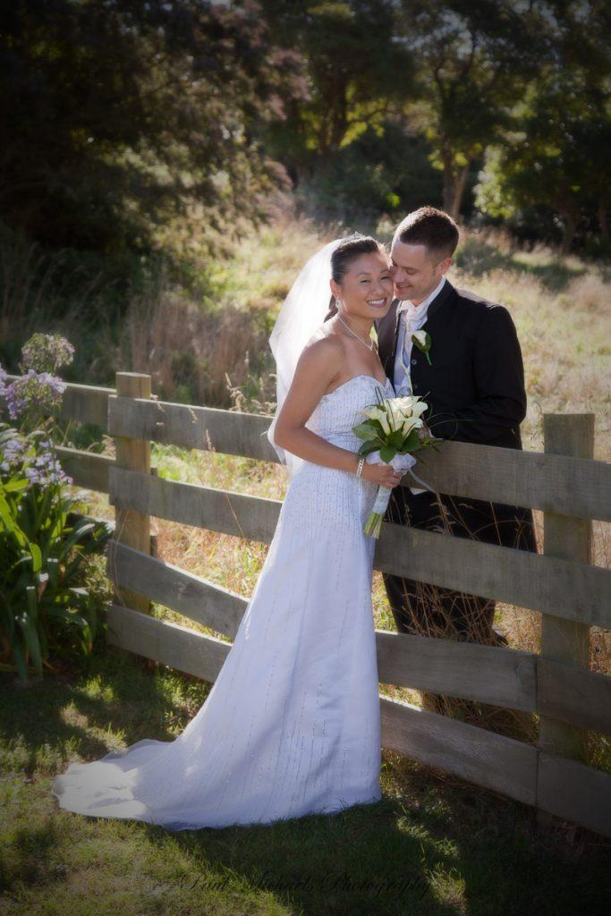 Wedding at Ohariu farm