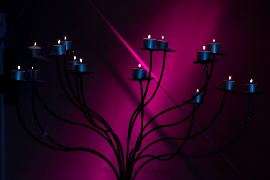 Reception candles