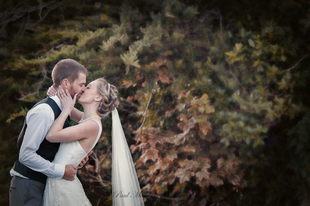 Kiss at Silverstream retreat gardens