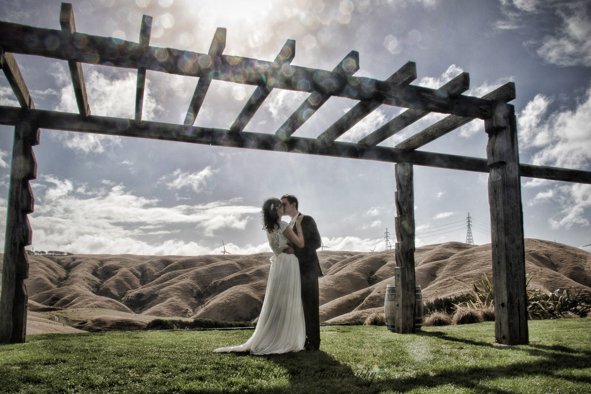Kiss at Ohariu farm
