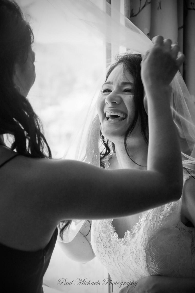 Bride before the wedding