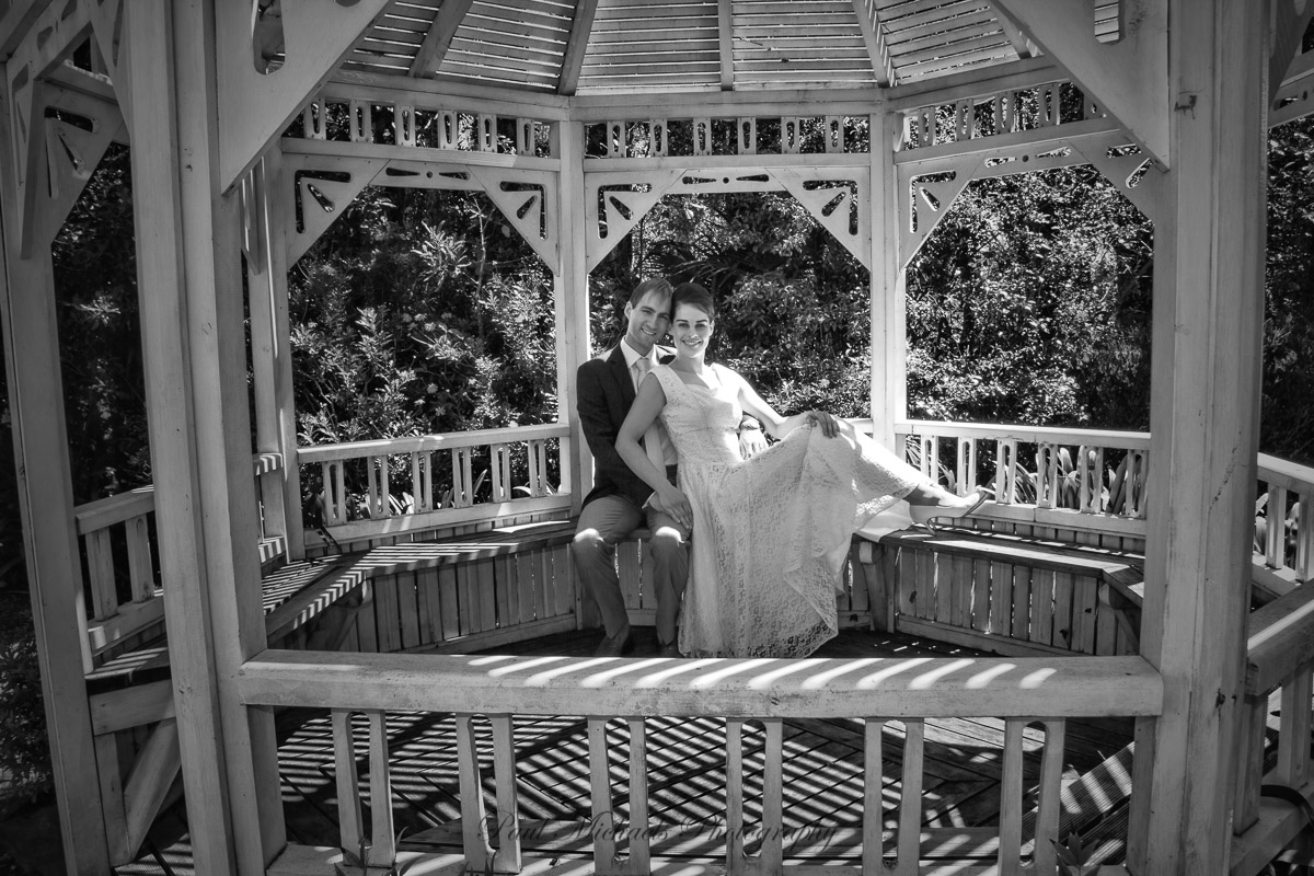 In the Gazebo