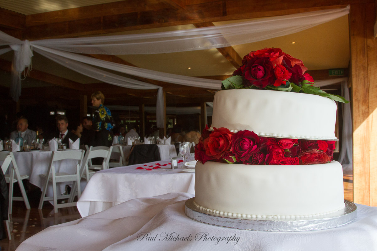 Cake at the reception