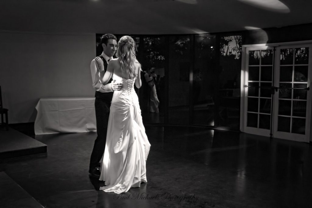 First dance at reception