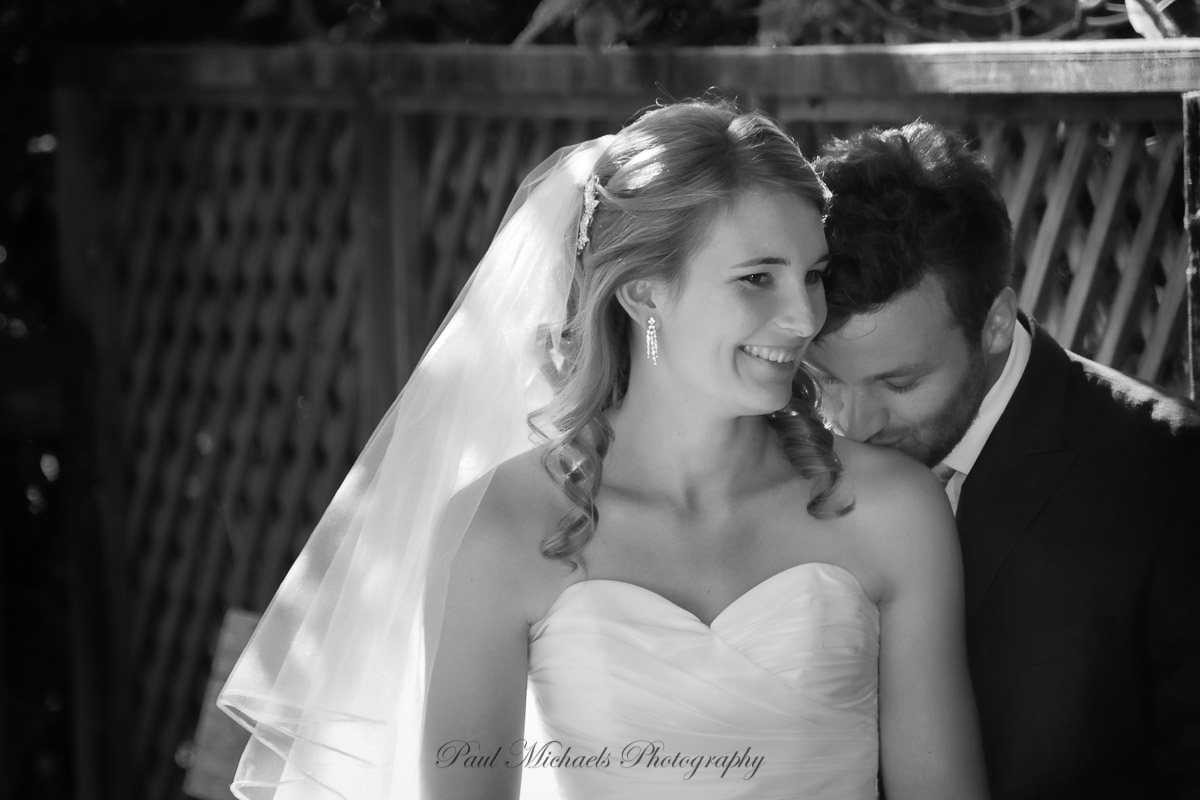 Wedding couple at Zealandia