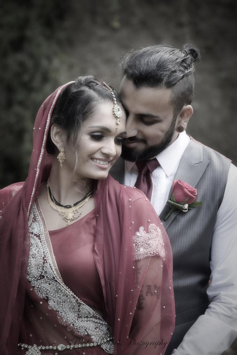 Indian wedding at Aston Norwood