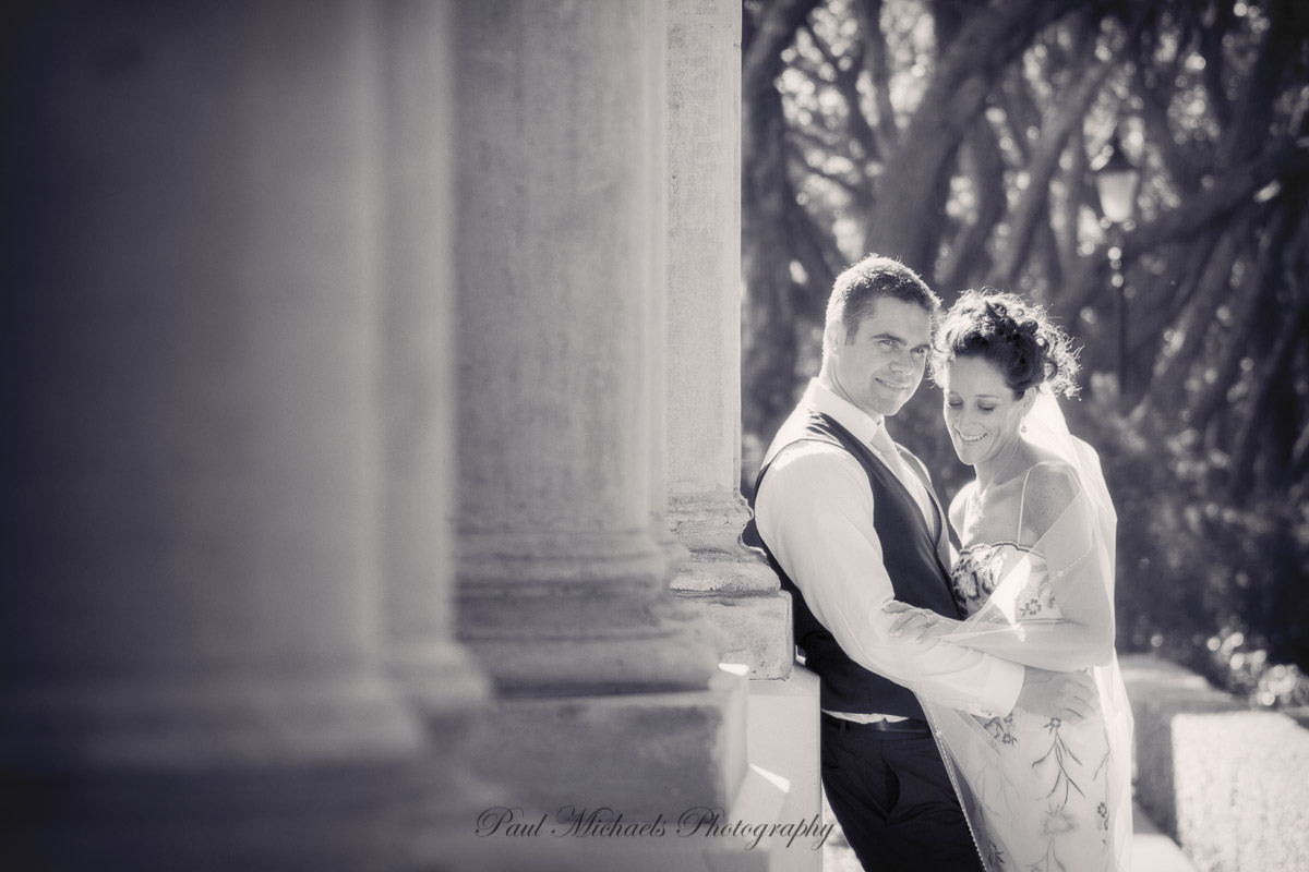 Shane and Zara at government house.