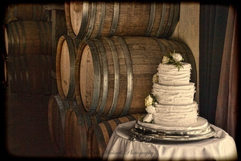 Cake by the beer barrels