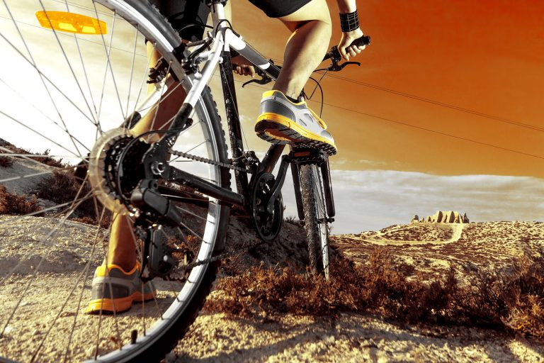 Marketing images for cycling