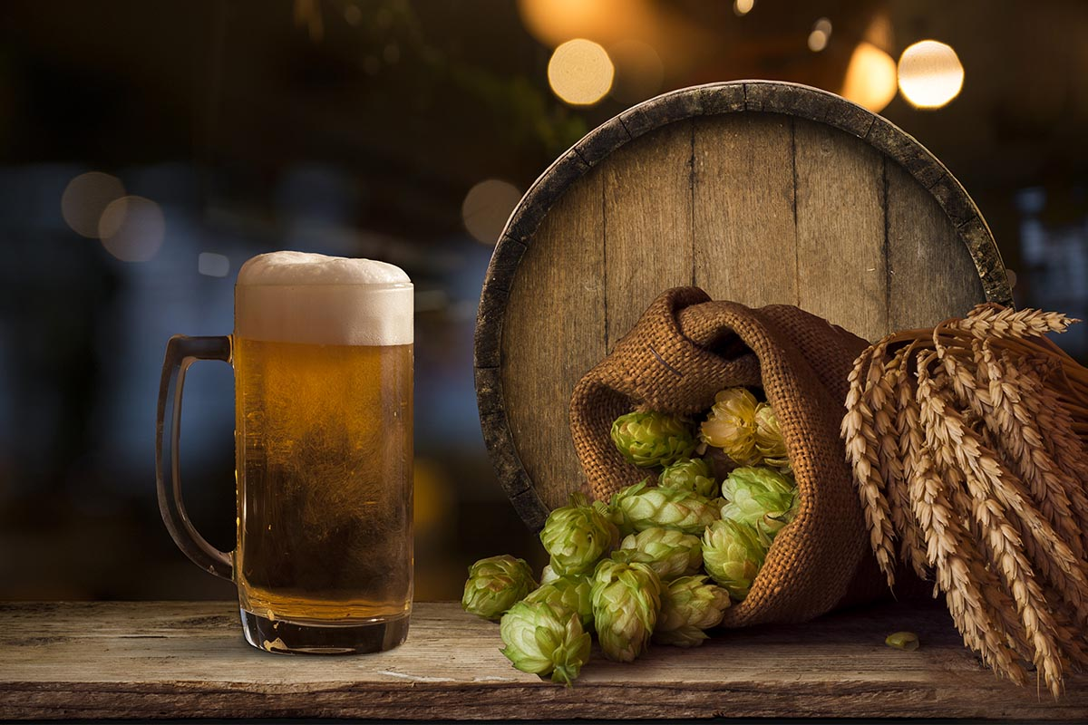 Marketing images for brewery